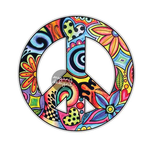 Peace Stickers