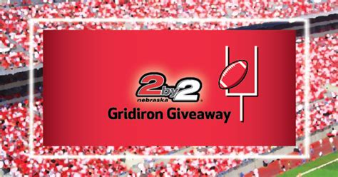 Gridiron Giveaway - share your opinions with the nebraska lottery