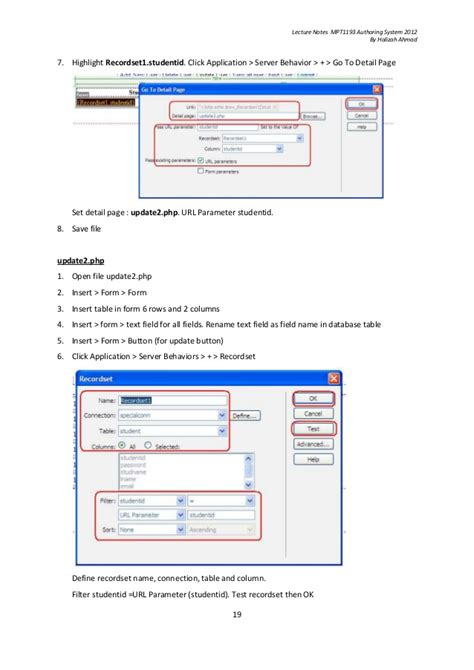 tutorial dreamweaver cs3 tutorial php and dreamweaver cs3