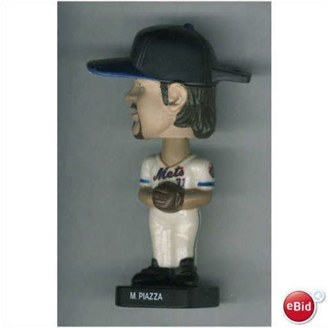 m piazza bobblehead 2002 post fotoball mets 31 m piazza bobblehead on ebid