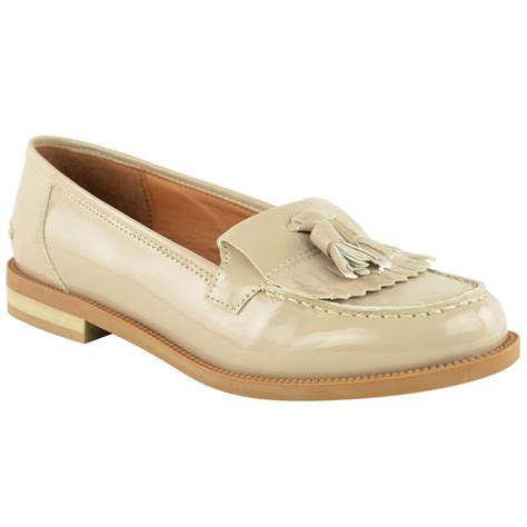 ebay flat shoes womens flat casual office patent faux leather