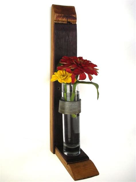Flower Holders For Vases Wall Hanging Flower Holders 100 Recycled Glass And Wine