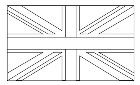 Free Coloring Pages Of United Kingdom Outline United Kingdom Flag Coloring Page