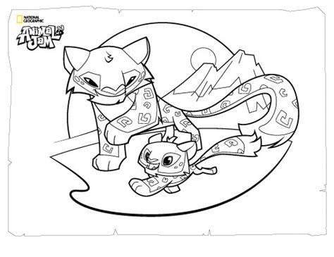 coloring pages for animal jam animal jam coloring pages the daily explorer sophie s