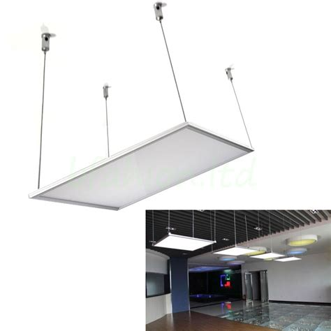 Wiring Led Ceiling Lights by Hanging Suspension Mounting Wire Accessory Kit Fitting Led Ceiling Panel Light Ebay