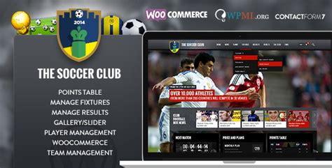 themes wordpress soccer sports template