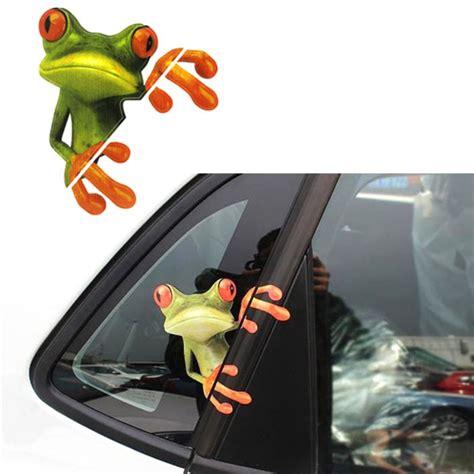 Lustige Autoaufkleber Tiere by Online Kaufen Gro 223 Handel Frosch Decals Aus China Frosch