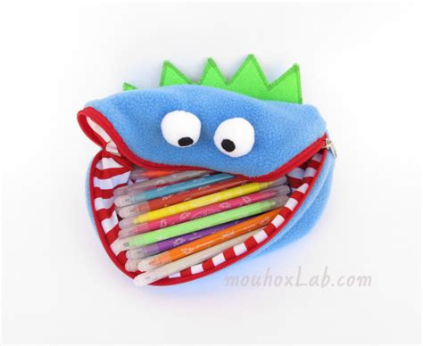 Handmade Pencil Cases - pencil handmade crayon bag for boys by mouhoxlab