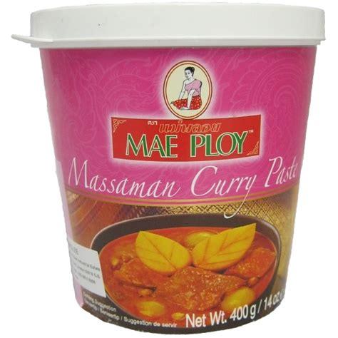 Buy Massaman Curry Paste 400g   Shop Online   Authentic Thai Ingredients   UK   Europe