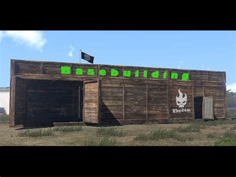 arma 3 exile tutorial base building base bauen de hd