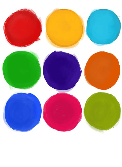 color dots color dots png www pixshark images galleries with