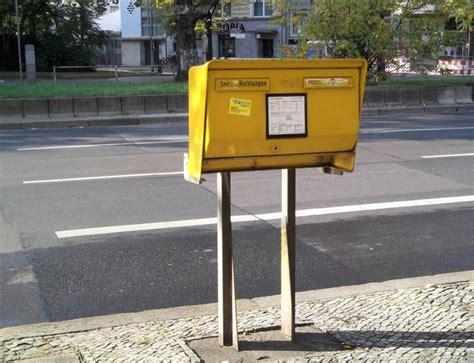 briefkasten hardenbergstrasse   berlin charlottenburg