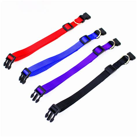 Fashion Collar 1 1 pcs new fashion collars for small dogs pet cat collar 4 sizes 4 colors adjustable