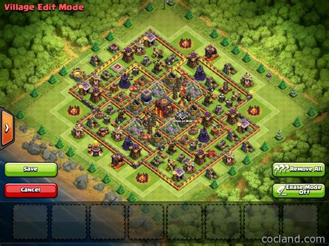 th10 layout post update new farming layout collection with town hall inside base