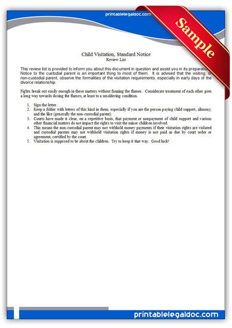 software license certificate template free printable child visitation standard notice form