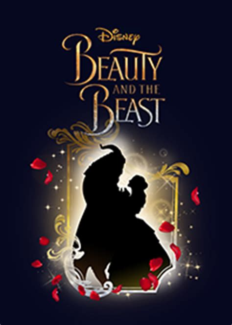 theme line beauty and the beast beauty and the beast silhouette line theme line store