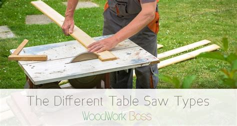 types of table saws types of table saws a guide to all the options in 2018
