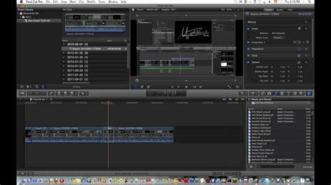 final cut pro zoom cursor tutorial video zoom in final cut pro x youtube