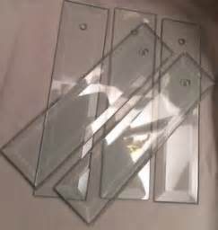 Replacement Chandelier Glass Panels Flat Beveled Glass Panel L Chandelier 8 Quot Replacement
