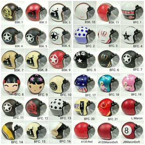 Promo Terbaru Helm Bogo Lubro 12 harga helm bogo asli