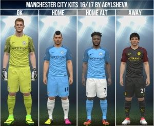 Kaos Tshirt Baju Pes Pro Evolution Soccer 2018 Grade Ori Lokal pes 2016 manchester city 16 17 kits by agylsheva pes patch