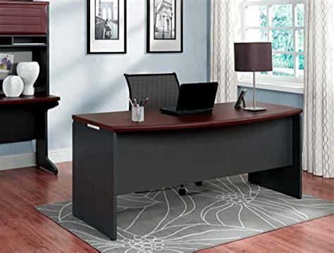 executive office desk home business furniture large modern dark wood cherry work ebay