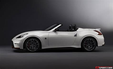 nissan coupe convertible official nissan 370z nismo roadster concept gtspirit