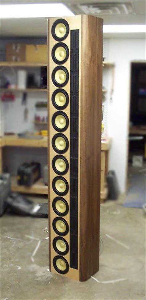 line array speakers diy line array information any help is appreciated avs