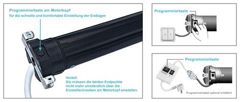 jalousie motor endschalter einstellen ime elektronischer rolladenmotor rohrmotor rolladenantrieb