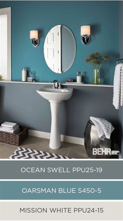 Blue Gray Bathroom Colors by Best 25 Bathroom Colors Ideas On Guest