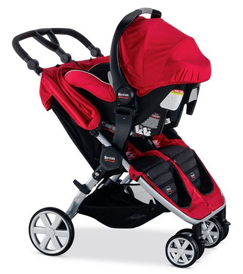 strollers with two car seats britax b agile stroller