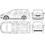 Image Gallery Minivan Dimensions