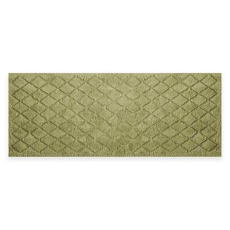 sage bathroom rugs buy avanti splendor 24 inch x 60 inch bath rug in sage from bed bath beyond