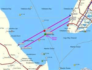 delaware bay us map the delaware bay
