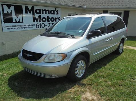 2001 chrysler town and country for sale 2001 chrysler town and country for sale in greenville sc
