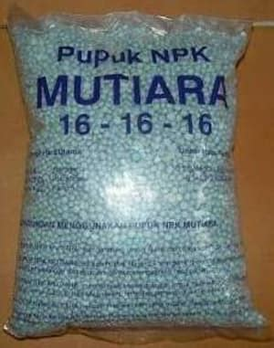 Pupuk Npk Mutiara Harga manfaat dan kandungan pada pupuk npk 16 16 16 petani top