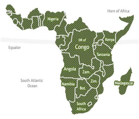 map of sub saharan africa sub saharan africa travel guide