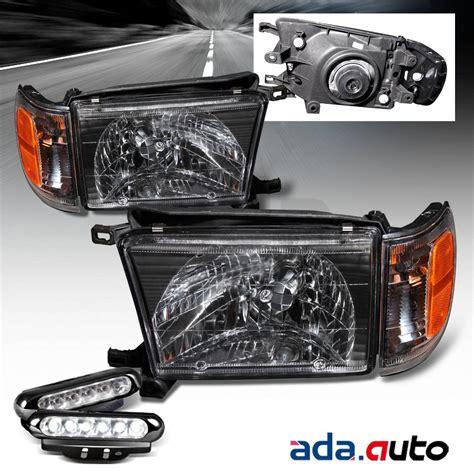 1997 toyota 4runner fog lights 1996 1998 toyota 4runner black headlights corner ls led