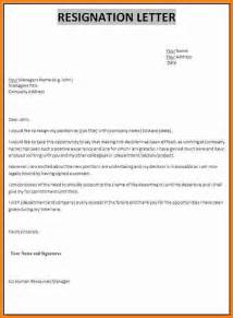 What To Write In Letter Of Resignation by 7 How To Write Letter Of Resignation Email Ledger Paper