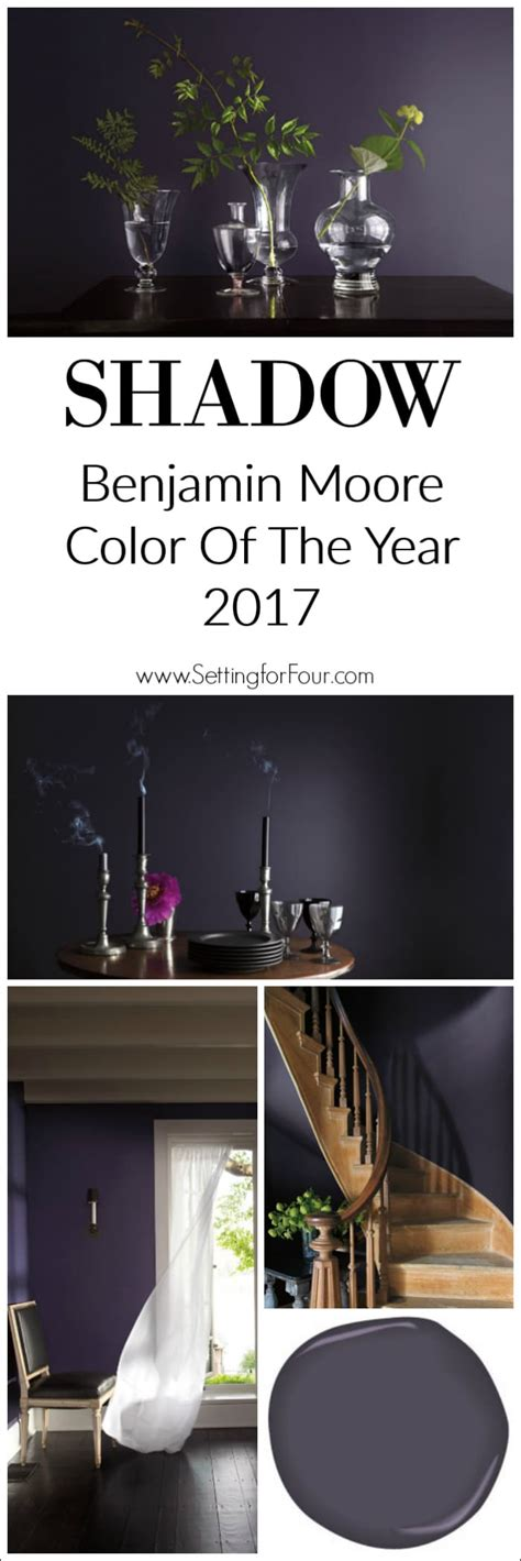 benjamin moore 2017 color of the year benjamin moore shadow color of the year 2017 setting