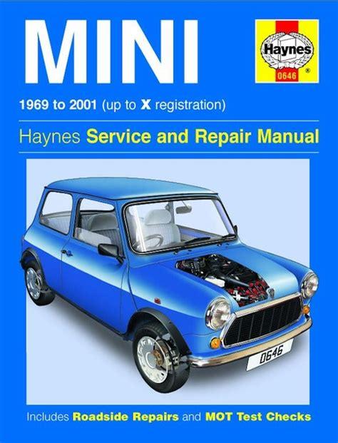 car repair manuals online free 2008 mini cooper clubman free book repair manuals mini service repair manual 1969 2001 haynes 0646