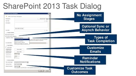 sharepoint workflow tasks sharepoint 2013 workflow assignment task 28 images