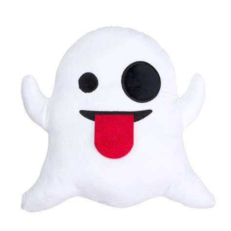 emoji ghost ghost emoji pillow shelfies