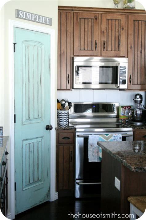 Painted Pantry Door Ideas by Pixie Friday Pantry