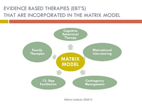 Enhanced Model Detox Treatment by Matrix Model Substance Abuse Therapy Addiction Treatment