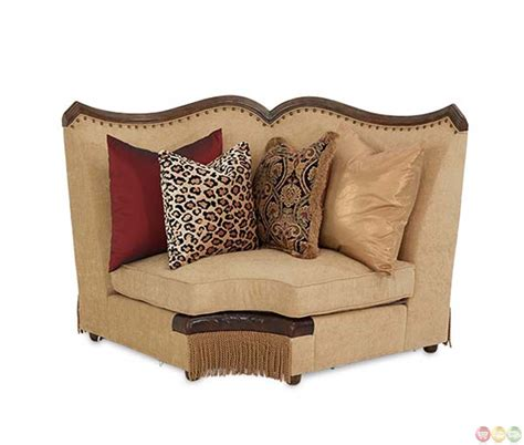 michael amini sectional michael amini victoria palace traditional 4 piece