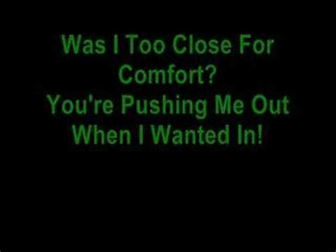 too close to comfort mcfly too close for comfort mcfly lyrics youtube
