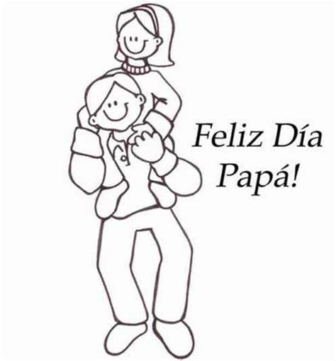 imagenes que digan feliz dia papa feliz dia papa dibujalia dibujos para colorear