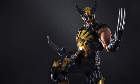 Wolverine From Square marvel wolverine collectible figure by square enix