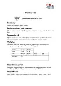 Short Business Proposal Template Best Photos Of Company Brief Template Product Launch